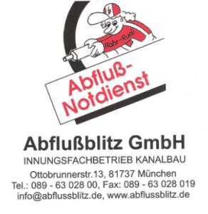 Abflussblitz Rohrreinigung München